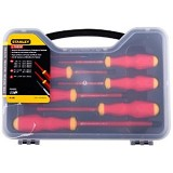 STANLEY VDE Screwdriver Set with Bonus [65-980-22] - Obeng Set